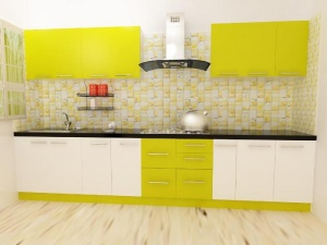 Parallel kitchen OR one wall kitchen